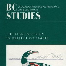 Image of Book - B.C. Studies - The First Nations in British Columbia