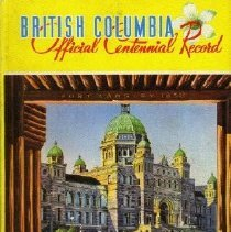 Image of Book - British Columbia Official Centennial Record