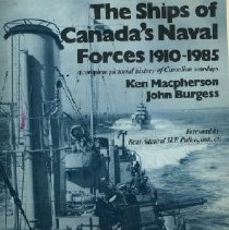 Image of Book - The Ships of Canada's Naval Forces 1910-1985