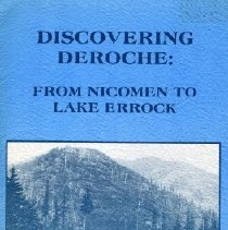 Image of Book - Discovering Deroche: From Nicomen to Lake Errock