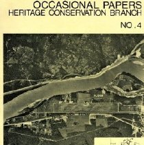 Image of Book - Occasional Paper Number 4. Archaeological Investigations at the Flood and Pipeline Sites Near Hope B.C.