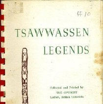 Image of Book - Tsawwassen Legends