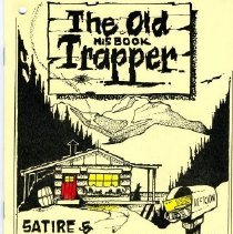 Image of Book - The Old Trapper - His Book