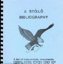 Image of Book - A Sto:lo Bibliography