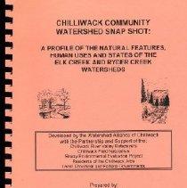 Image of Book - Chilliwack Community Watershed Snapshot