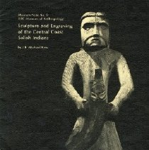 Image of Book - Sculpture and Engraving of the Central Coast Salish Indians