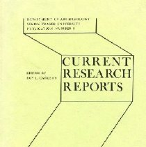 Image of Book - Current Research Reports