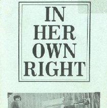 Image of Book - In Her Own Right