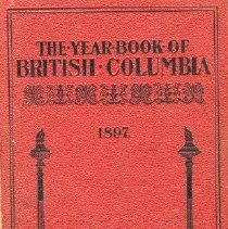 Image of Book - The Yearbook of British Columbia - 1897