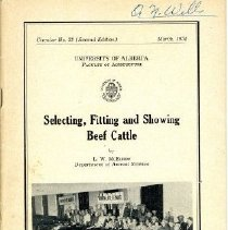 Image of Book - Selecting, Fitting and Showing Beef Cattle