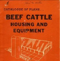 Image of Book - Beef Cattle Housing and Equipment