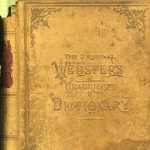 Image of Book - The Original Webster's Unabridged Dictionary