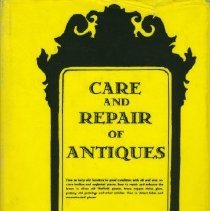 Image of Book - Care and Repair of Antiques