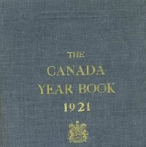 Image of Book - The Canada Year Book: 1921