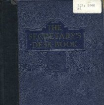 Image of Book - The Secretary's Desk Book