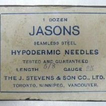 Image of Needles, Hypodermic - 1962.006.019a-b