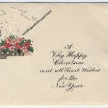 Image of Card, Greeting - 1978.017.011a-b