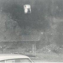 Image of Print, Photographic - Aerial lift to dam - Sumas Lake reclamation