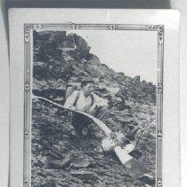 Image of Print, Photographic - Plane Crash site 1942