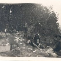 Image of Print, Photographic - Scout camp at Cultus Lake