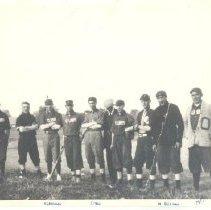 Image of Print, Photographic - Cubs baseball team