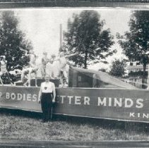 Image of Print, Photographic - Athletic Float Kinsmen Club