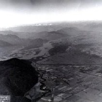 Image of Print, Photographic - Aerial view of Greendale during 1948 flood