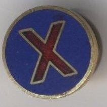 Image of Pin, Lapel (X) - 1985.019.009