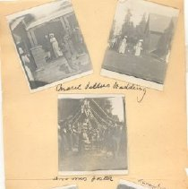 Image of Print, Photographic - Wedding of Mabel Sellers and Mr. Foster