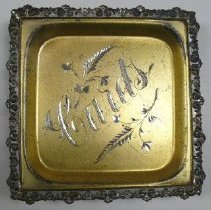 Image of Tray, Card - 1991.022.0105