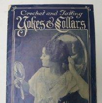 "Image of Booklet, ""Crochet...Yokes & Collars"" - 1993.011.023"