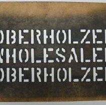 Image of Stencil - 1999.023.0040.0016