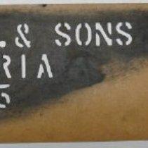 Image of Stencil - 1999.023.0040.0037