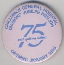 Image of Button, Pinback [CHWK Hospital] - 1999.028.005
