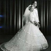 Image of Print, Photographic - wedding portrait, Pilling-Kennedy