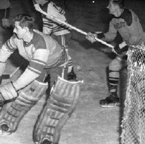 Image of Print, Photographic - Army vs Arnold's hockey game