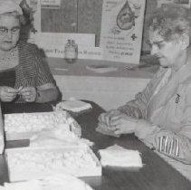 Image of Print, Photographic - Mrs. Hazel Keller & Mrs. G. Culbert