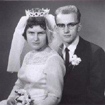 Image of Print, Photographic - Reist-Schick wedding