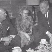 Image of Print, Photographic - Harry Walker, Mrs. Geo.McKenzie and Joe McGraw