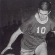 Image of Print, Photographic - Basketball player John Meagher