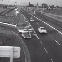 Image of Print, Photographic - Traffic on Highway One