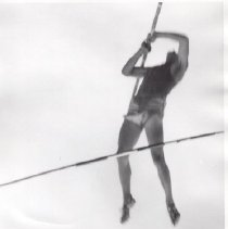 Image of Print, Photographic - Jerry Morrow, pole vaulter