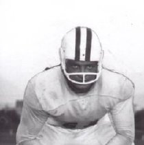 Image of Print, Photographic - Football player, Menard