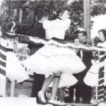 Image of Print, Photographic - Square dancers on float - Agassiz Fall Fair