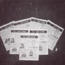 Image of Print, Photographic - Newspaper advertisement lines