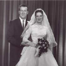 Image of Print, Photographic - Mr. & Mrs. Mike Michaloski (nee Donna Lacey)