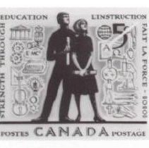 Image of Print, Photographic - New canadian postage stamp