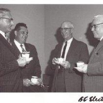 Image of Print, Photographic - Fraser Valley Real Estate Salesmen coffee break