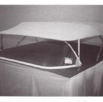 Image of Print, Photographic - Advertisement  photo  - a canopy top for a boat