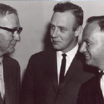 Image of Print, Photographic - Mayor T. McCammon, Jack Birch and Andrew Saxton